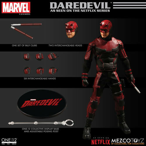 Mezco Toys One 12 Collective Figures - Daredevil TV Series - Daredevil PREORDER