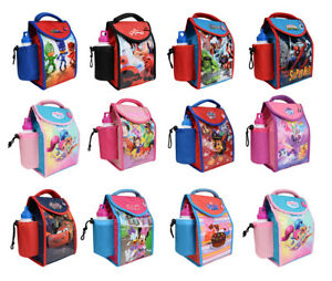 Kids-Children-Insulated-Lunch-Bag-Box-And-Drink-Sport-Water-Bottle-Set