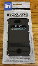 BRAND NEW CRKT INOX4K iNoxCase Stainless Steel Case for Apple iPhone 4 4S BLACK