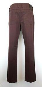 H23) Marken Hattric Herren Jeans Hose HUNTER Gr.W32 L34 Neu braun