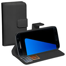 PEDEA Book Classic Cover Nero Custodia Protettiva Custodia Per Samsung Galaxy s7 Edge