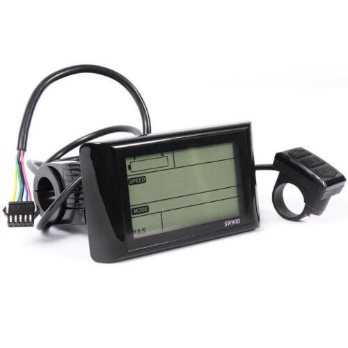 48V SW900 LCD Display Panel Meter Controller For Electric Bicycle E-bike 36V