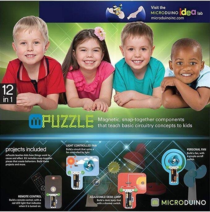 Microduino mpuzzle magnetische snap zusammen sind 12 bildungs - spielzeug - alter von 5 + 1.