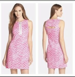 e4840394293 Image is loading Lilly-Pulitzer-Penelope-Shift-Dress-Tropical-Pink-Zebra-