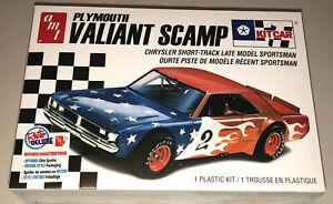 AMT-Plymouth-Valiant-Scamp-Kit-Car-Stock-Car-1-25-model-kit-new-1171