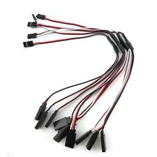 10pcs RC Servo Y Extension Cord Cable Wire 300mm for JR Futaba z