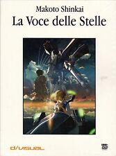Dvd + Libro **LA VOCE DELLE STELLE** di Makoto Shinkai nuovo digibook 2002