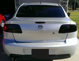 Attractive Image Is Loading Mazda 3 Smoked Tinted Tail Light Covers Vinyl  Nice Ideas