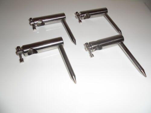 8 cm jambe. 4 x acier inoxydable unique bras diamètre 16 m canne Stabilisateurs