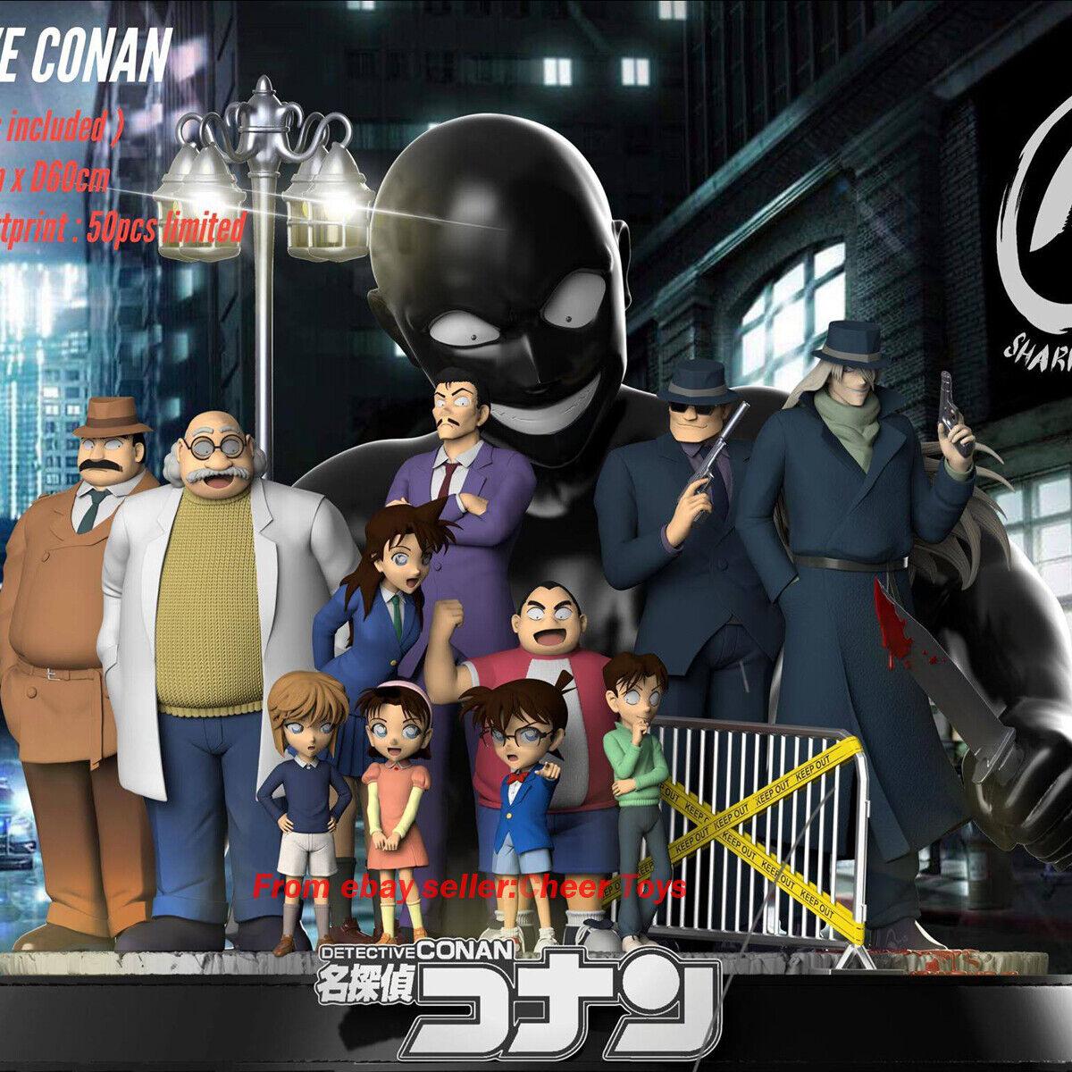 1 6 Diseño de tiburón Studio Detective Conan garaje Juegos Colors limitada