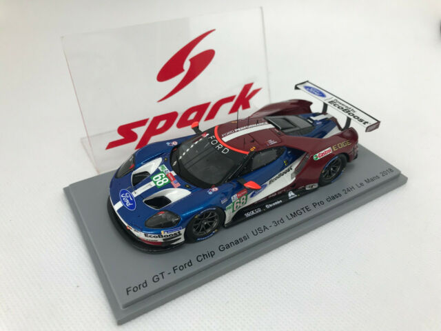 Ford Gt 3.5L Turbo V6 #68 3Rd Lmgte Pro Class Le Mans 2018 Hand SPARK 1:43 S7052