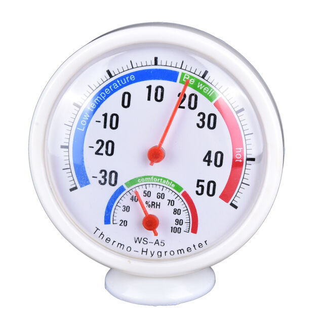 Digital Indoor Outdoor LCD Thermometer Hygrometer Temperature Humidity Meter BYW