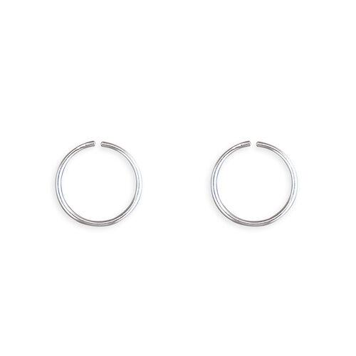 precio Por Par Pequeño anillo de la nariz 8mm