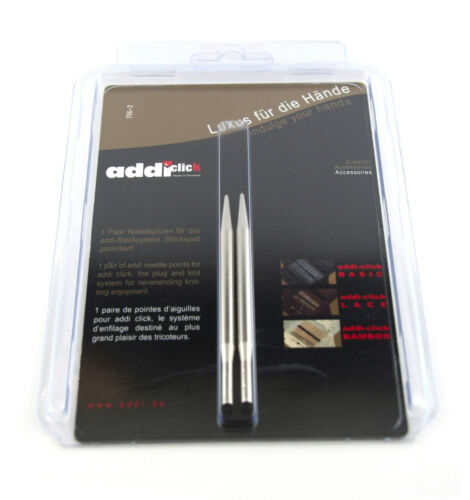 3.75 mm Addi Click Lace 1 paire aiguille Tips US#5