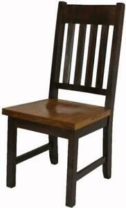 Mennonites Amish Handmade Local Solid Wood Dining Chair Kits Canada Preview