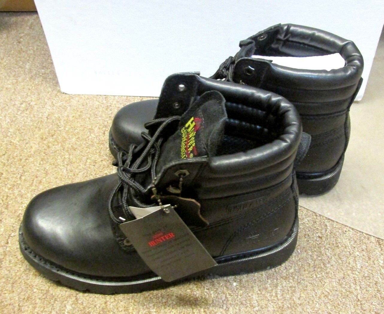 GRAND HUNTER HIGH TOP WORK Stiefel INSULATED OIL OIL INSULATED RESISTANT SIZE 7 STYLE 600 BLACK c25153