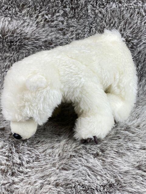 "Wishpets Unisex 15/"" Large Stuffed Animal Polar Bear Slippers w// Claws Plush Toy"