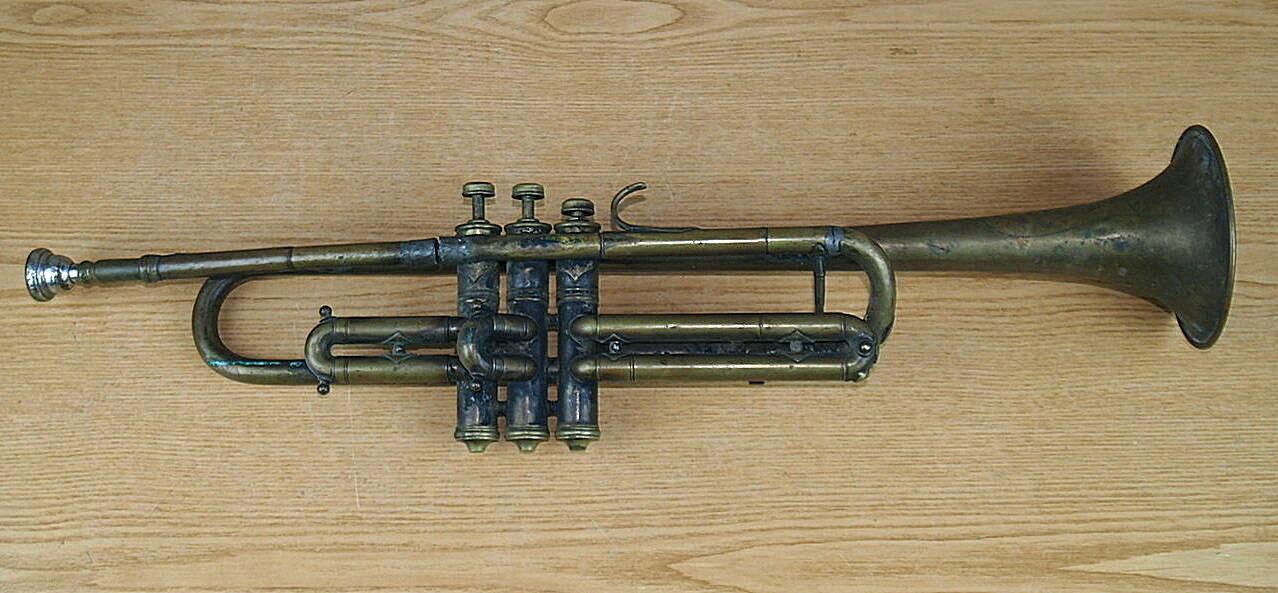Wind instruments trumpet ANTON DEHMAL NACHFOLGER VIEN V I BREITE GASSE 1