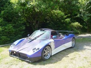 Zonda-Style-Replica-Unfinished-Project-Kit-car-Unregistered-Track-Car
