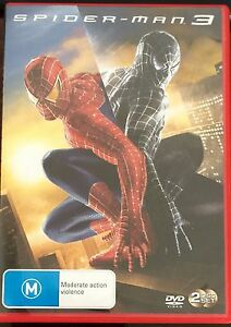 Spider-Man-3-DVD-2007-2-Disc-Set-Toby-Maguire-BRAND-NEW-NOT-SEALED