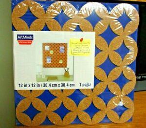 Details about NIP!! ArtMinds Die-Cut Cork Foam Tile Board 12