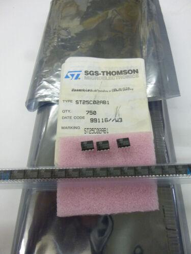 10 piece//10 pieces st25c02ab1 = 24c02 2k Serial i²c Bus EEPROM dip8