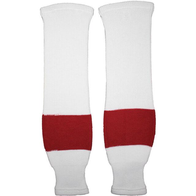 DoGree Hockey Detroit Redwings Knit Hockey Socks