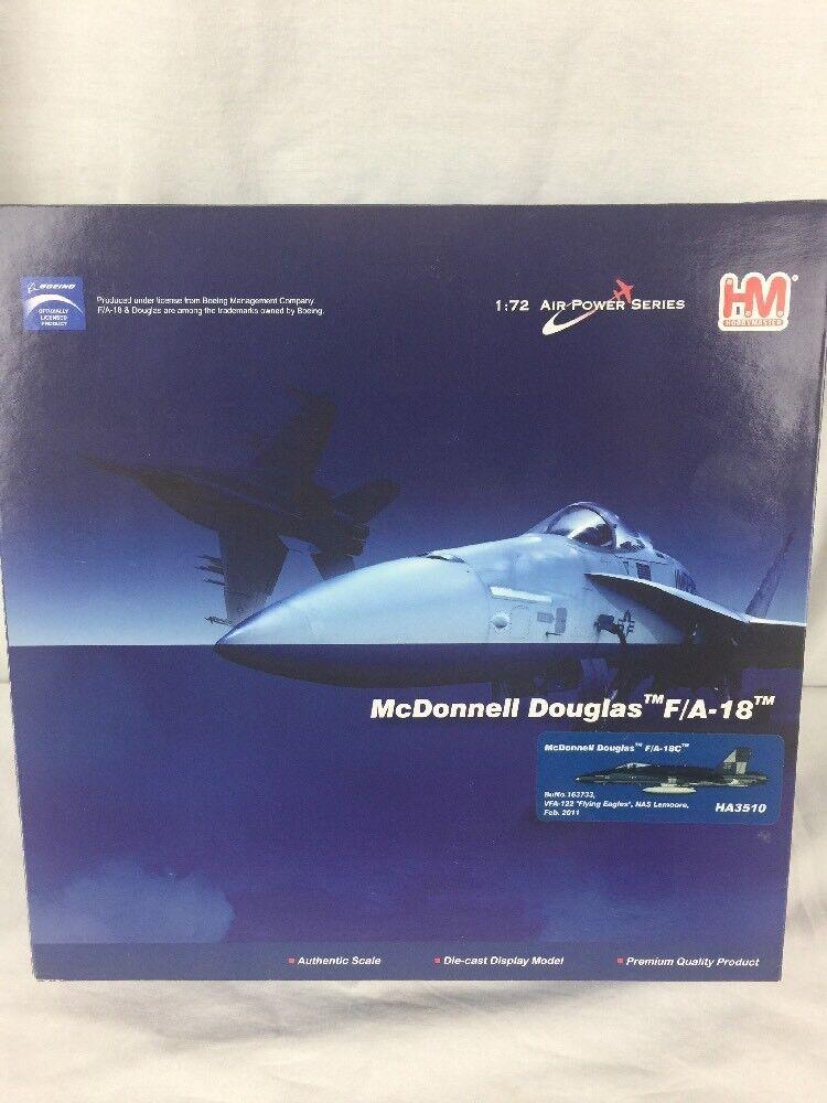 Hobby Master 1 72 McDonnell Douglas F A-18C  Flying Eagles  HA3510 Nuevo