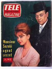 TELE MAGAZINE du 6/1962; Mr Suzuki, Agent secret/ Age tendre et tête de bois