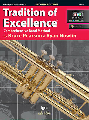 Book//Online Media W61CL Tradition of Excellence Clarinet Book 1