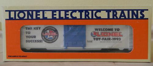 Lionel O O-27 1993 Toy Fair Furgón envíos gratis en los Estados Unidos