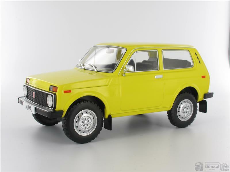 Model Car Group mcg18001 Lada Niva, dark yellow, without Cabinet, 1976 Scale 1 1