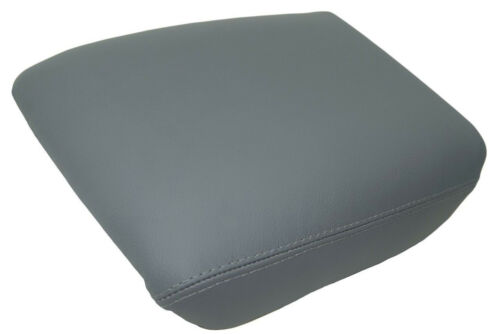 Center Console Armrest Leather Synthetic Cover for Honda Pilot 03-08 Gray