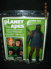 "Planet Of The Apes- ""Soldier Ape"" 8"" Action Figure (NIP) Diamond Select 2008"