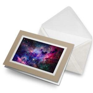 Greetings-Card-Biege-Cool-Blue-amp-Pink-Nebula-Solar-System-8545