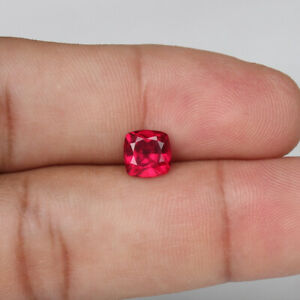 Details about  /4.60 Ct Natural Red Ruby Mozambique Round Shape Loose Gemstone