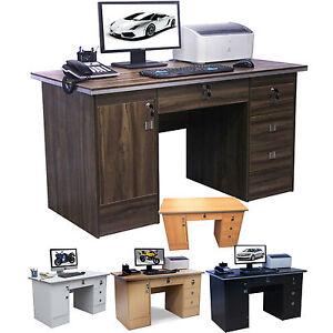 walnut office furniture. Image Is Loading Computer-Desk-4-Home-Office-Furniture-PC-Table- Walnut Office Furniture