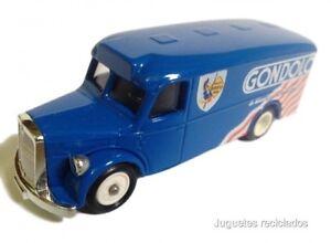 CORGI-MAN-VAN-GONDOLO-furgoneta-DIECAST