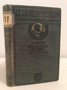 J.Hauptzeichner Le Livre Der Arzt Krankheiten Der Reins A.Poinat 1918