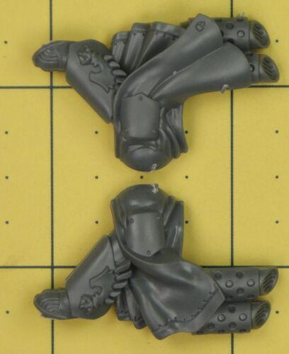 Warhammer 40K Space Marines Dark Angels Ravenwing Command Squad Legs D