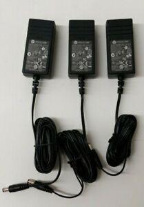 Lot-Of-3-OEM-Polycom-24v-500mA-Adapter-Model-SPS-12-015-240-P-N-1465-42340-001