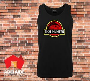 JB-039-s-Singlet-Fish-Hunter-Cool-new-angler-fishing-boating-design-in-Small-to-5XL