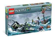 Lego Agent 8633 Mission 4 : Speedboat Rescue  NEW Sealed Ships WORLD WIDE