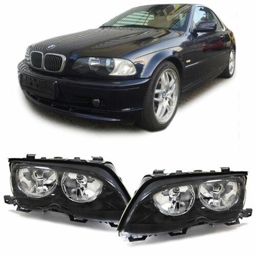 Scheinwerfer H7 H7 Paar für BMW 3ER E46 Limousine Touring 01-05
