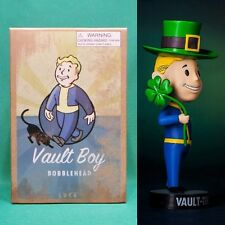 "Fallout 3 Vault Boy 5"" Luck 101 Bobblehead (Series #3) NIB Vault-Tec Pip Boy"