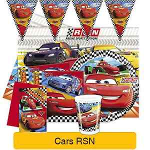 Image Is Loading Disney CARS RSN Birthday PARTY Range Tableware Balloons