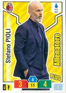 R-R-CARD-PLUS-ALLENATORE-ADRENALYN-XL-PANINI-2019-20-MILAN-PIOLI-N-481