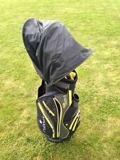 New Retractable JL Golf waterproof bag rain hood cover. Universal fit mac