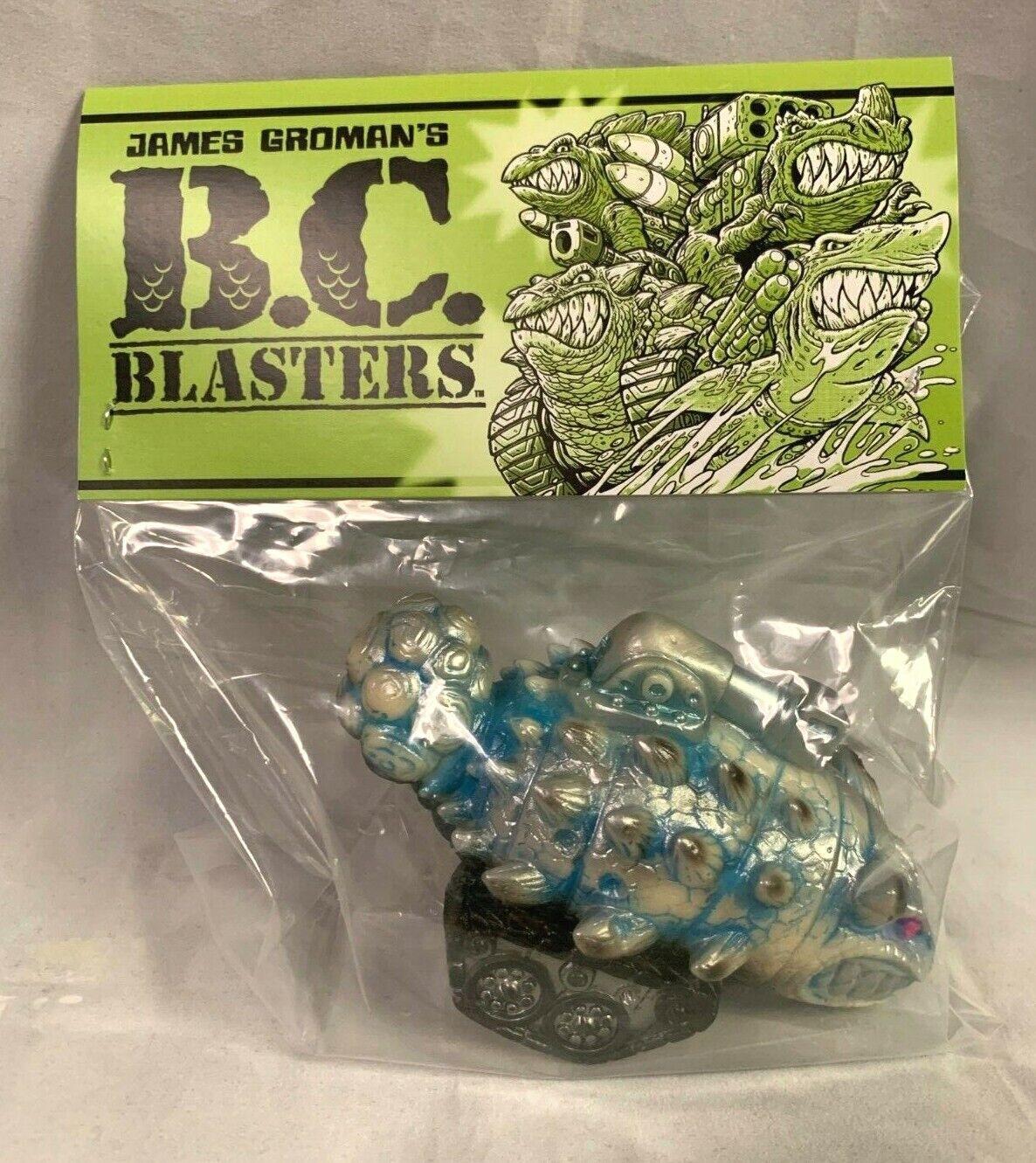 James Groman's BC Blasters Tanklasaurus Frostbite Sofubi Dinosaur Kaiju NIP