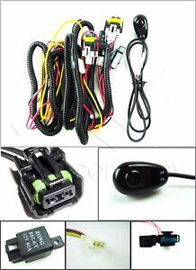 gmc sierra fog light wiring harness kit wswitch